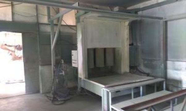 Instalatie vopsire electrostatica de la Sc Sircom Impex Srl