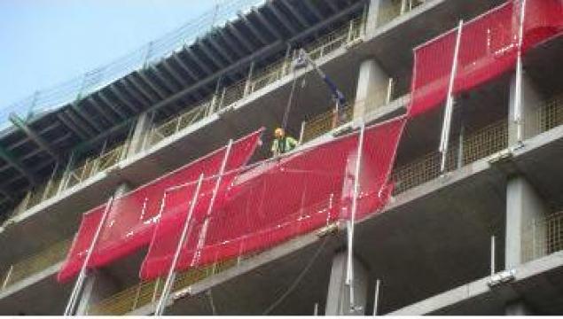 Plasa de siguranta pentru goluri in constructii de la Life Sport Nets Srl-d