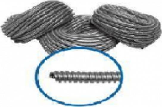 Tub flexibil metalic zincat de la Agino Total Srl.