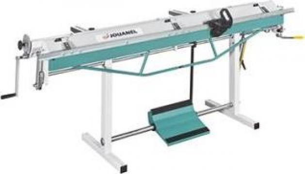 Masina de indoit tabla, abkant manual de la Jouanel Machine Tools Srl