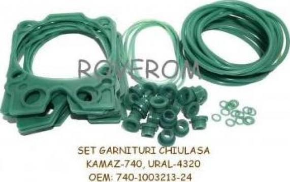 Set garnituri chiuloasa Kamaz-740, Ural 4320, Kamaz 4310