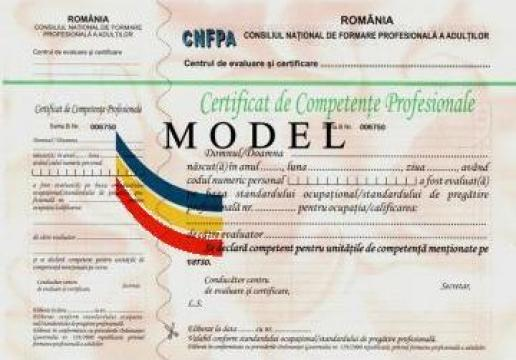 Evaluare competente profesionale Sudor electric de la Estetic Clas Srl.