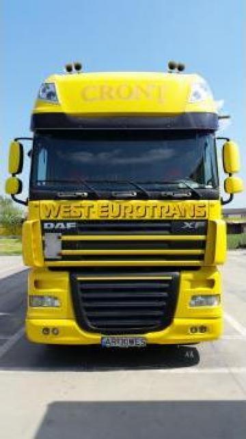 Cap tractor DAF de la S.c West Eurotrans S.r.l.