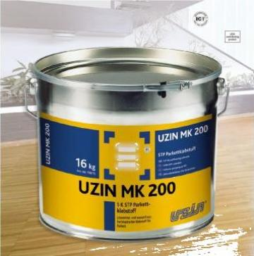 Adeziv flexibil pentru parchet si pardoseli din lemn MK 200 de la Alveco Montaj Srl