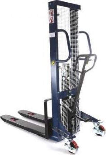 Stivuitor manual pietonal HaBa15HH16, 1500kg