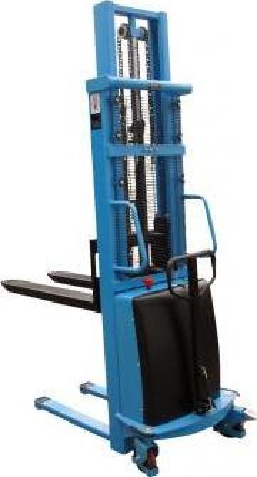 Stivuitor electric pietonal 2000kg, 1,6m