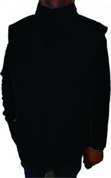 Vesta neagra vatuita matlasata