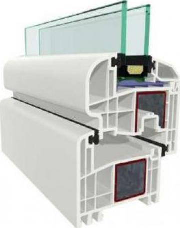Tamplarie PVC Gealan 8000 IQ de la Gamaterm Design