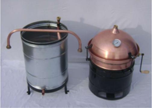 Cazan tuica 30 litri de la S.c. Metal Group S.r.l.
