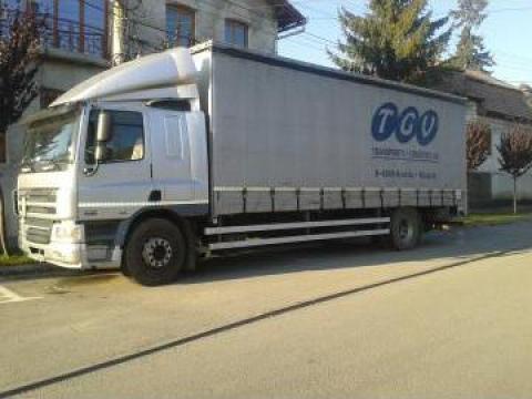 Transport marfa cu camion, 10 tone
