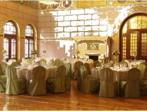 Huse din tafta culoare verde deschis de la Sc Kron Event&Decoration Srl