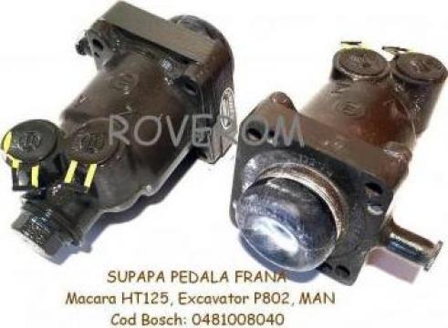 Supapa pedala frana macara HT125, excavator P802, Komatsu de la Roverom Srl