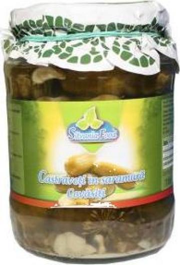 Castraveti in saramura covasiti 720ml Silvania Food