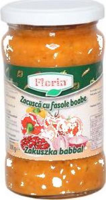 Conserva zacusca cu fasole Florin 360 g