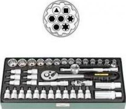 Trusa cu chei tubulare 7632-410
