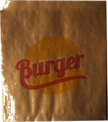 Coltar burger hartie kraft natur verge 15x17, 2500 bucati de la Fivalcom