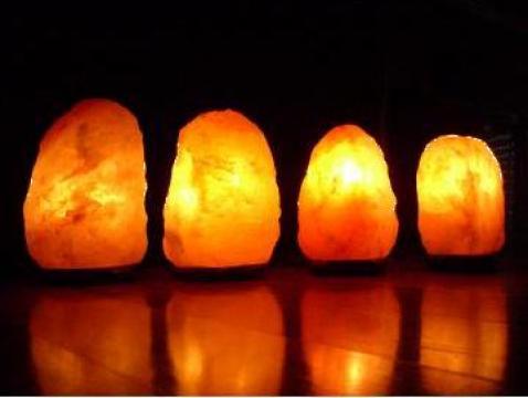 Lampi din sare de Himalaya de la Adon Olam Srl