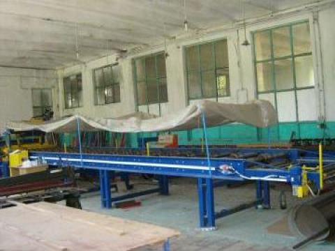 Linie de producere tigla metalica de la Leonimed
