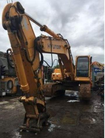 Excavator pe senile Hyundai 320NLC-7 de la Pkd Grup