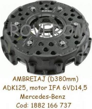 Ambreiaj motor IFA 6VD, Baukema SHM5-200macara ADK125, 380m