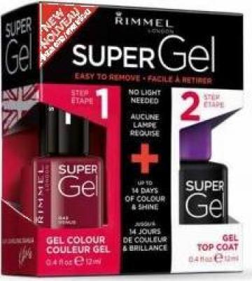 Lac de unghii Rimmel Super Gel duo pack 043 de la Sc Oldless Cosmetics Srl