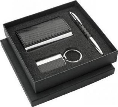 Set cadou: pix, breloc si suport carti de vizita. de la DLT Image