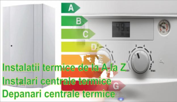 Reparatii centrale termice de la Tool Efect S.r.l.