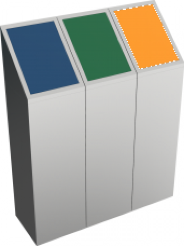 Cosuri pentru colectare selectiva Todi SST 3X60L de la Forward Support Srl