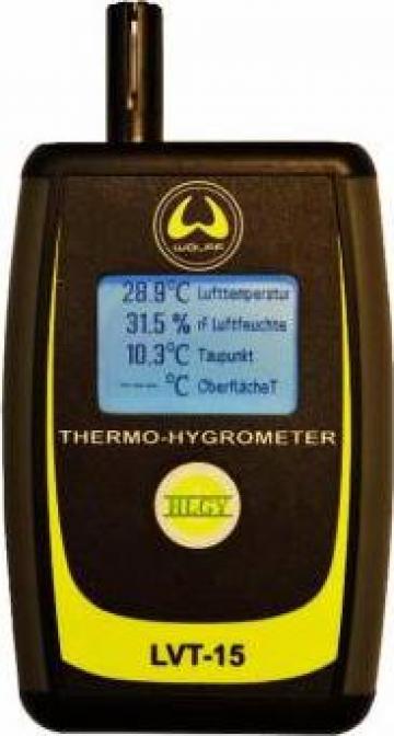 Aparat masurarea temperaturii aerului, a suprafetei LVT 15 de la Alveco Montaj Srl