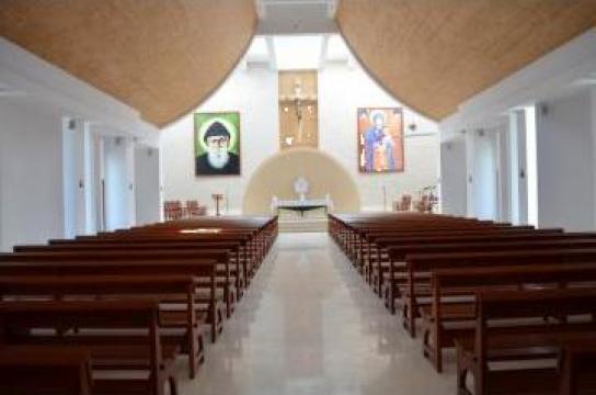 Mobilier biserica Saint Charbel de la Landscape