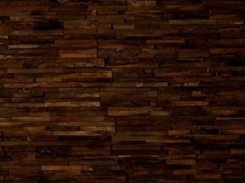Tapet perete din lemn de teak Scotch