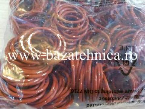 Inel o-ring din cauciuc siliconic 4x44 mm de la Baza Tehnica Alfa Srl