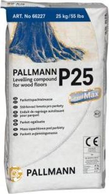 Sapa autonivelanta pentru parchet Pallmann P 25