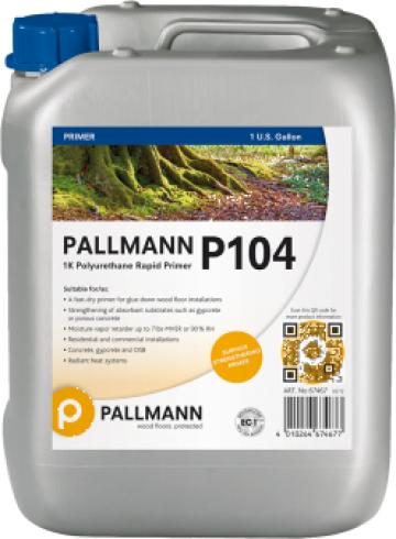Amorsa poliuretanica pt pardoseli din lemn Pallmann P104 de la Alveco Montaj Srl