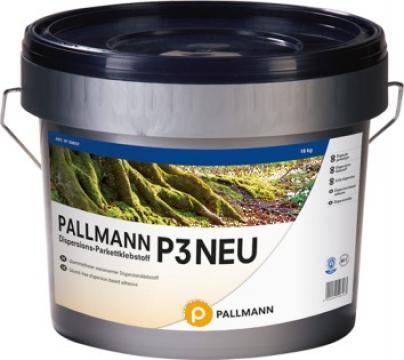 Adeziv ecologic pentru parchet Pallmann P3 New de la Alveco Montaj Srl