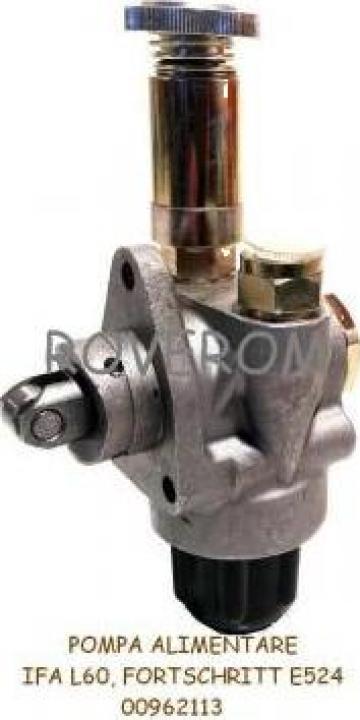 Pompa alimentare Ifa L60, Fortschritt E524, Multicar