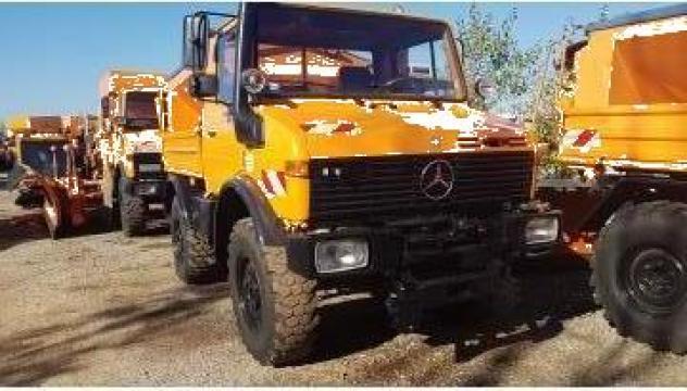 Utilaj deszapezire Unimog U1450, U1600, U1650 de la Super 3 Construct
