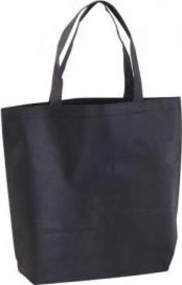 Sacosa / geanta din material netesut cu manere lungi Shopper de la Best Media Style Srl