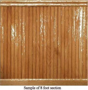 Lambriu din lemn de molid de la Valger Srl