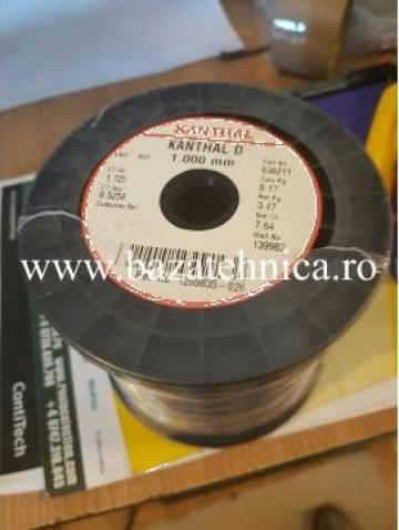 Sarma Kanthal, Nichelina, fi 1.0B4, ambalaj 3.47 kg de la Baza Tehnica Alfa Srl