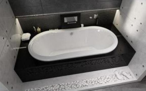 Cada baie ovala pentru incastrat