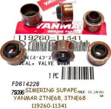 Simering supape Yanmar 2TN66, 2TNE68, 3TNE68 de la Roverom Srl
