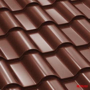 Tigla metalica Bilka Romanic 0.5 lucios de la BDM Roof System