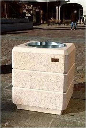 Cos de gunoi din beton Milano