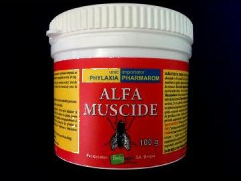 Insecticid contra mustelor Alfa Muscide 100 g