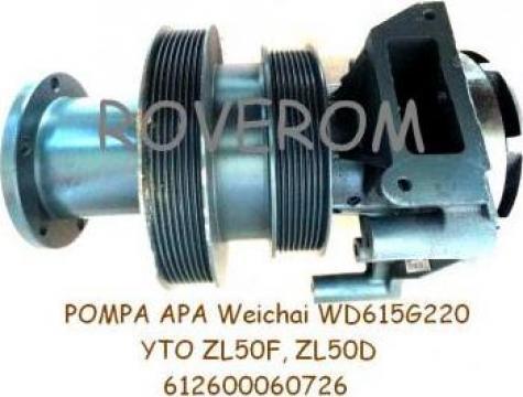 Pompa apa WD615G220, YTO ZL50F, ZL50D (2 fulii)