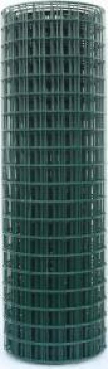 Plasa gard sudata plastificata H, grosime 2.5 mm de la Sc Ibmar Lasak Srl