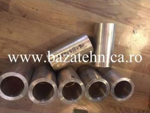 Bucse bronz CuSn6Zn4Pb4, fi 56 x fi 69 x h 130 mm de la Baza Tehnica Alfa Srl