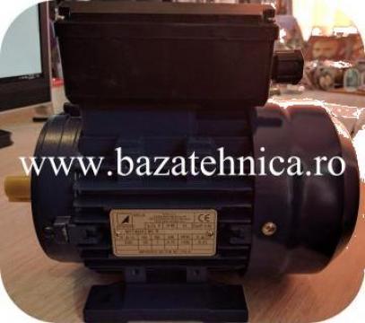 Motor monofazat 0.75kW x 1500rpm, cu talpi B3, 230V, clasa F de la Baza Tehnica Alfa Srl