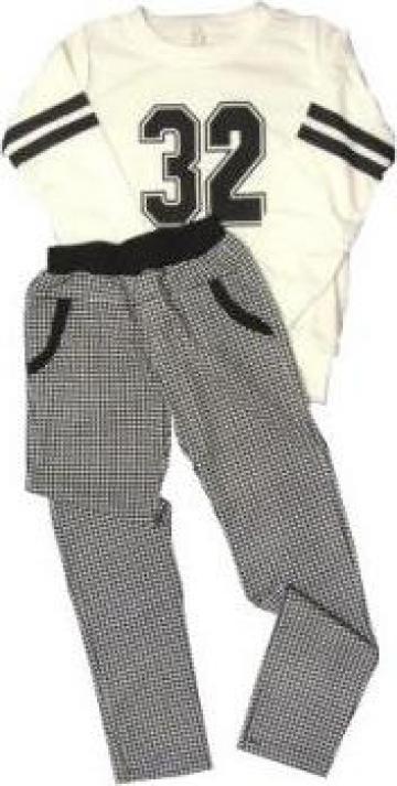 Compleu bluza si pantalon pentru copii A de la A&P Collections Online Srl-d
